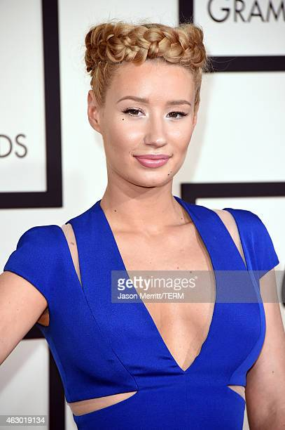Rapper Iggy Azalea attends The 57th Annual GRAMMY Awards at the STAPLES Center on February 8 2015 in Los Angeles California