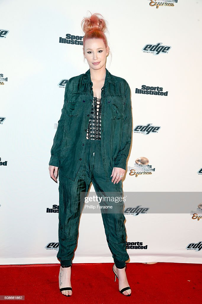Rapper Iggy Azalea attends the Sports Illustrated Experience Friday Night Party on February 5, 2016 in San Francisco, California.