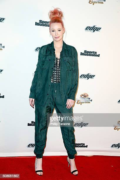 Rapper Iggy Azalea attends the Sports Illustrated Experience Friday Night Party on February 5 2016 in San Francisco California