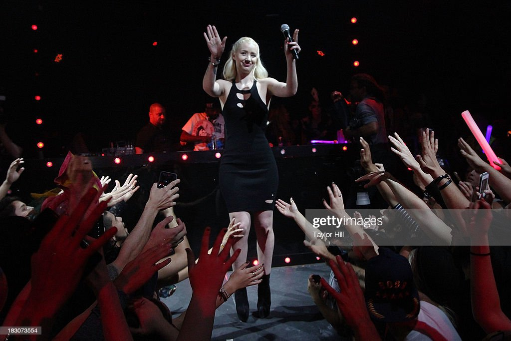 Rapper <a gi-track='captionPersonalityLinkClicked' href=/galleries/search?phrase=Iggy+Azalea&family=editorial&specificpeople=8558263 ng-click='$event.stopPropagation()'>Iggy Azalea</a> performs during <a gi-track='captionPersonalityLinkClicked' href=/galleries/search?phrase=Iggy+Azalea&family=editorial&specificpeople=8558263 ng-click='$event.stopPropagation()'>Iggy Azalea</a>'s 'Change Your Life' EP Release Celebration And Performance at Marquee on October 3, 2013 in New York City.