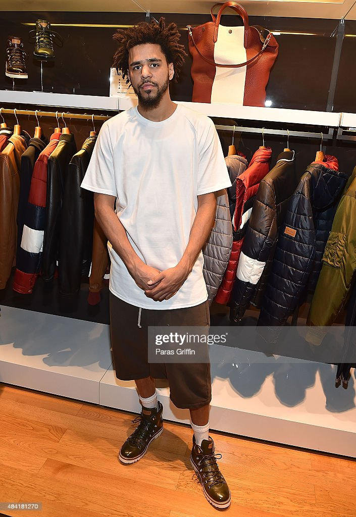 J. Cole For Bally Cocktail In Atlanta