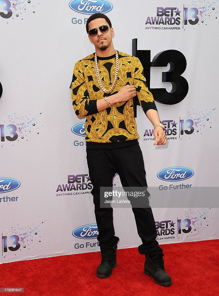 Rapper J. Cole attends the 2013 BET Awards at Nokia Theatre L.A. Live on June 30, 2013 in Los Angeles, California.