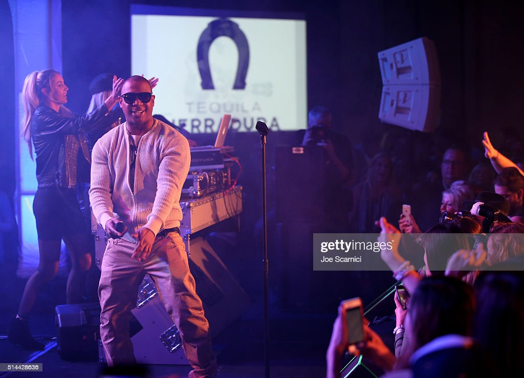 Rapper Ja Rule performs on stage at the Tequila Herradura 12th Annual Desert Smash Player Party Benefitting St. Jude Children's Research Hospital on March 8, 2016 in Rancho Mirage, California.