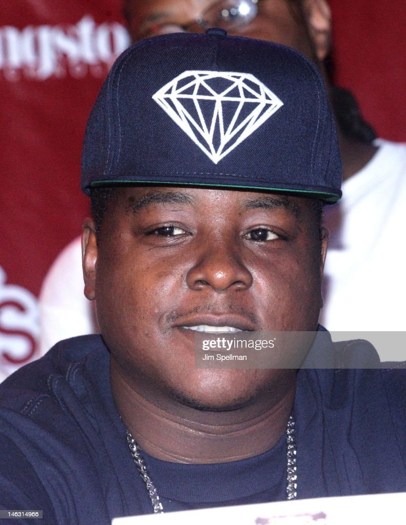 Rapper Jadakiss attends the 2012 Rock The Bells Festival Press Conference And Fan Appreciation Party on June 13, 2012 in New York City.