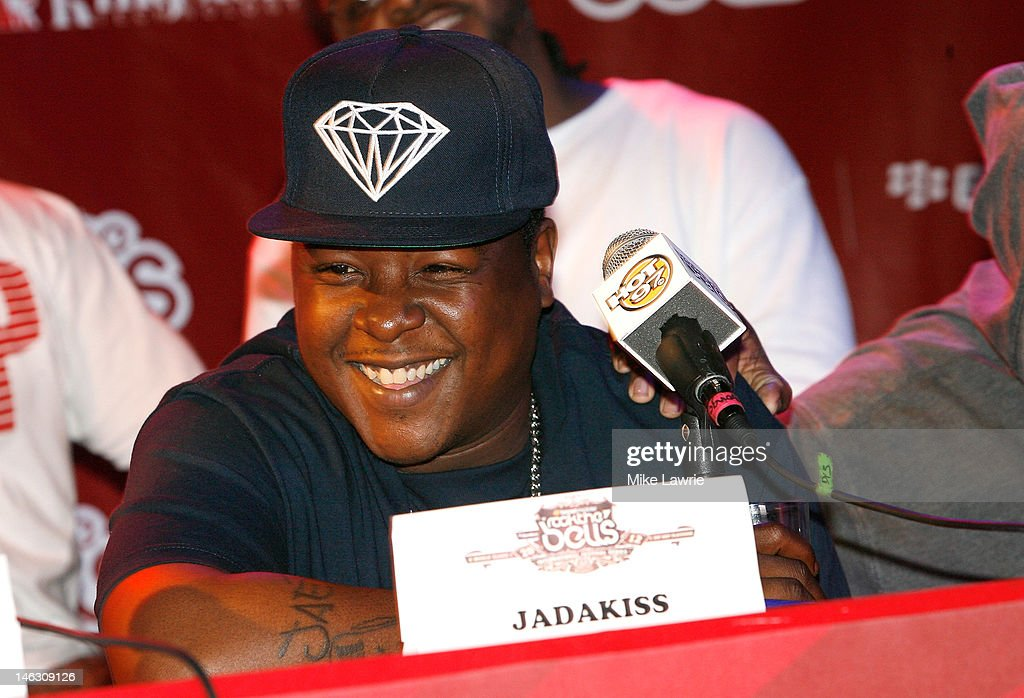Rapper Jadakiss speaks during the 2012 Rock the Bells Festival press conference and Fan Appreciation Party on at Santos Party House on June 13, 2012 in New York City.