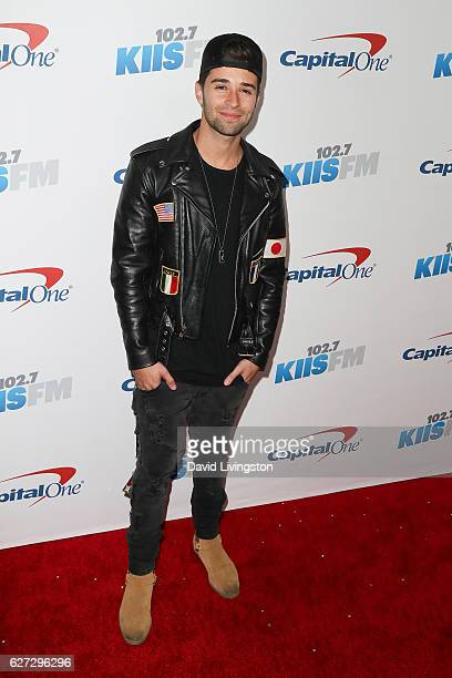 Rapper Jake Miller arrives at 1027 KIIS FM's Jingle Ball 2016 at the Staples Center on December 2 2016 in Los Angeles California