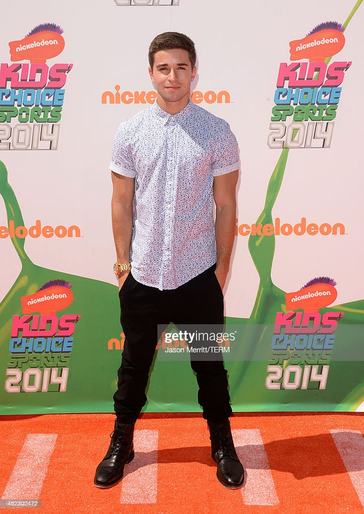 Rapper <a gi-track='captionPersonalityLinkClicked' href=/galleries/search?phrase=Jake+Miller+-+Musician&family=editorial&specificpeople=12425036 ng-click='$event.stopPropagation()'>Jake Miller</a> attends Nickelodeon Kids' Choice Sports Awards 2014 at UCLA's Pauley Pavilion on July 17, 2014 in Los Angeles, California.