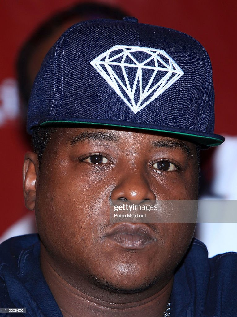 Rapper Jason 'Jadakiss' Phillips attends the 2012 Rock the Bells Festival press conference and fan appreciation party at Santos Party House on June 13, 2012 in New York City.