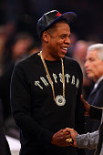 Rapper JayZ attends the 2015 NBA AllStar Game at Madison Square Garden on February 15 2015 in New York City NOTE TO USER User expressly acknowledges...