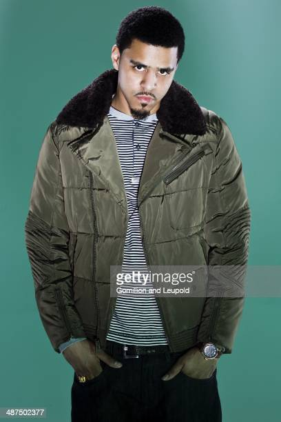 Rapper JCole is photographed for Vibe Magazine on June 27 2013 in New York City