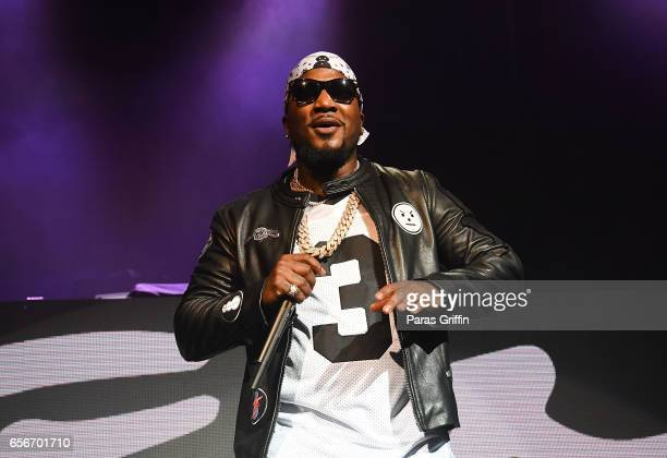 Rapper Jeezy performs in concert during 'Trap or Die 3' tour at The Tabernacle on March 22 2017 in Atlanta Georgia