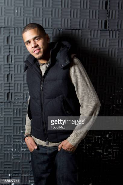 Rapper Jermaine Cole aka J Cole is photographed for USA Today on January 27 2012 in New York City PUBLISHED IMAGE