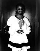 Rapper Jermaine Dupri poses for photos at the Swissotel in Chicago Illinois in JANUARY 1996