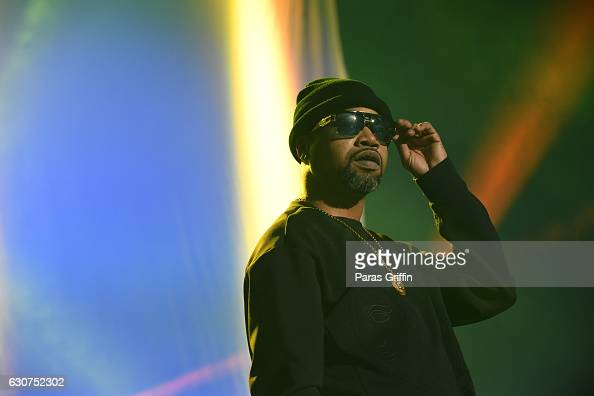 Rapper Juvenile performs onstage at 2016 Old School Hip Hop New Year's Eve Festival at Philips Arena on December 31 2016 in Atlanta Georgia