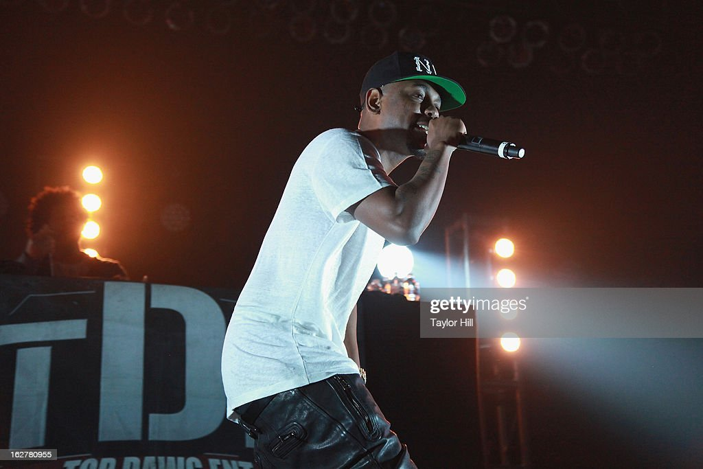 Rapper Kendrick Lamar performs at Roseland Ballroom on February 26, 2013 in New York City.
