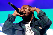 Rapper Kendrick Lamar performs onstage during 1051's Powerhouse 2015 at the Barclays Center on October 22 2015 in Brooklyn NY