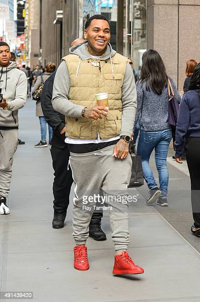 Rapper Kevin Gates leaves the Sirius XM Studios on October 5 2015 in New York City