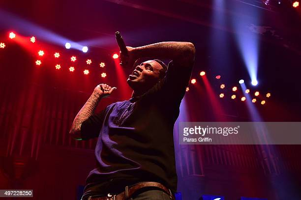 Rapper Kevin Gates performs in concert at The Tabernacle on November 14 2015 in Atlanta Georgia