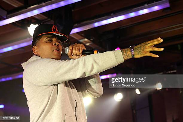 Rapper Kevin Gates performs onstage at the Atlantic Urban showcase during the 2015 SXSW Music Film Interactive Festival at Brazos Hall on March 18...