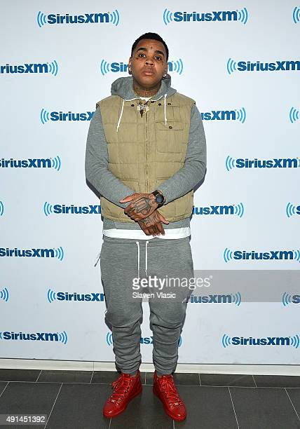 Rapper Kevin Gates visits SiriusXM Studios on October 5 2015 in New York City