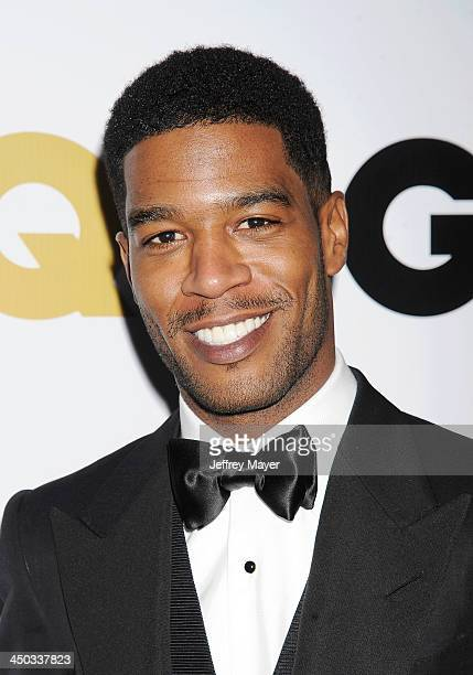 Rapper Kid Cudi arrives at the 2013 GQ Men Of The Year Party at The Ebell of Los Angeles on November 12 2013 in Los Angeles California