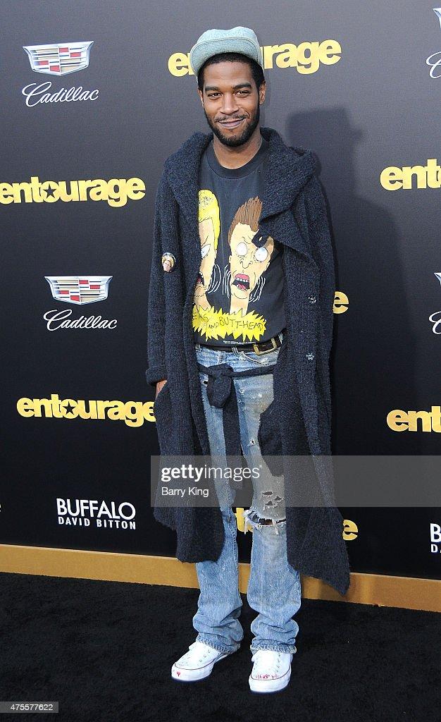 Rapper Kid Cudi Arrives At Warner Bros Pictures Premiere Of Entourage Regency
