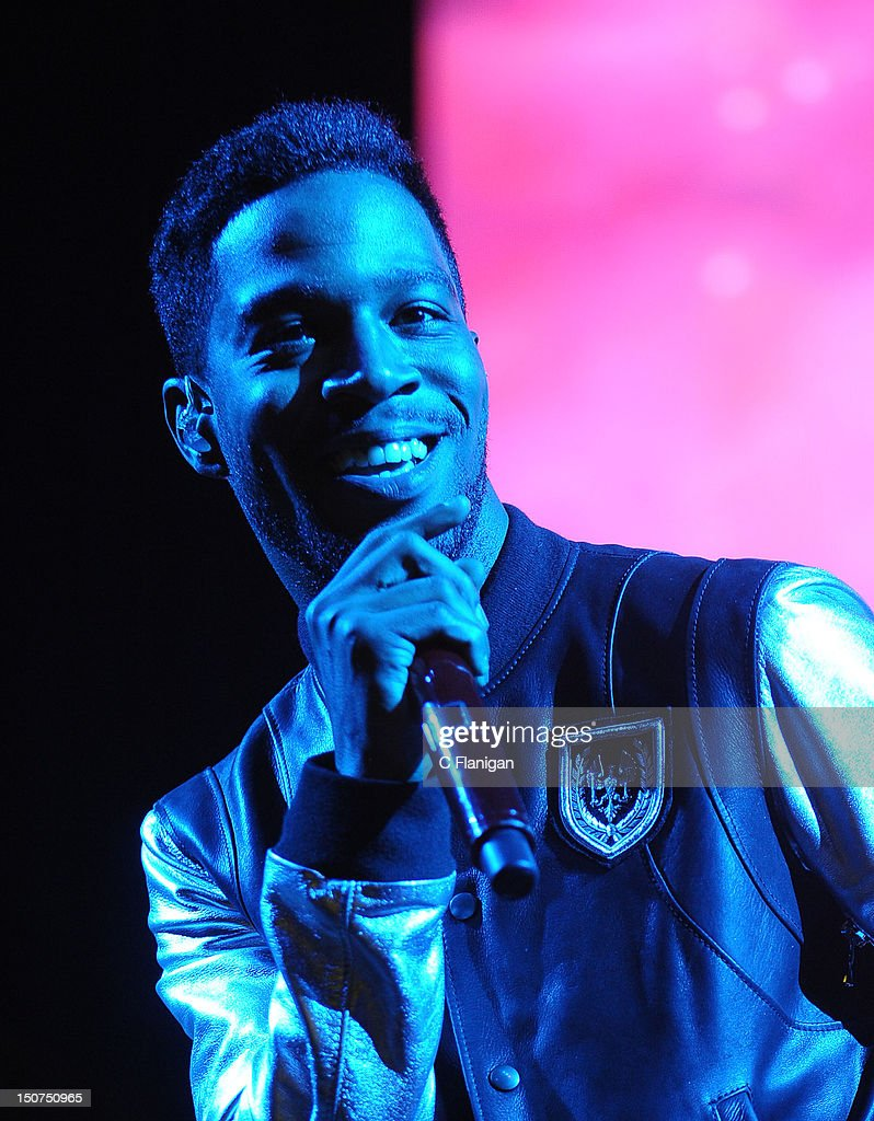 Rapper <a gi-track='captionPersonalityLinkClicked' href=/galleries/search?phrase=Kid+Cudi&family=editorial&specificpeople=5633679 ng-click='$event.stopPropagation()'>Kid Cudi</a> performs during the 2012 Boost Mobile & Guerilla Union Rock the Bells Music Festival powered by Blackberry at Shoreline Amphitheatre on August 25, 2012 in Mountain View, California.