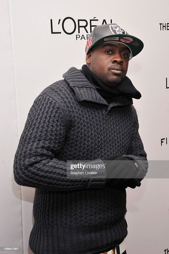 Rapper Kidd Kidd attends a screening of 'Parker' hosted by FilmDistrict, The Cinema Society, L'Oreal Paris and Appleton Estate at MOMA on January 23, 2013 in New York City.
