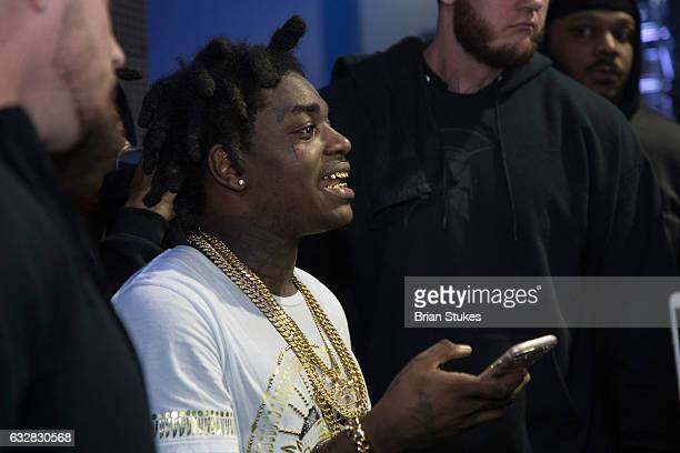 Rapper Kodak Black at Echostage DC on January 26 2017 in Washington DC