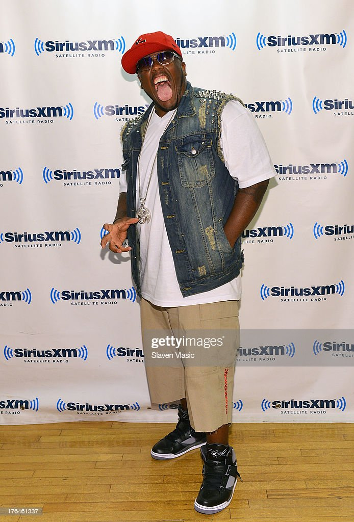 Rapper Krizz Kaliko visits SiriusXM Studios on August 13, 2013 in New York City.