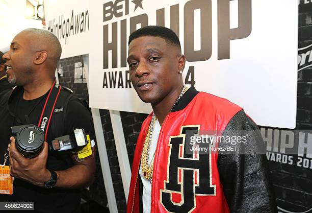 Rapper Lil Boosie attends the BET Hip Hop Awards 2014 presented by Sprite at Boisfeuillet Jones Atlanta Civic Center on September 20 2014 in Atlanta...
