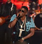 Rapper Lil Boosie performs onstage at the BET Hip Hop Awards 2014 at Boisfeuillet Jones Atlanta Civic Center on September 20 2014 in Atlanta Georgia