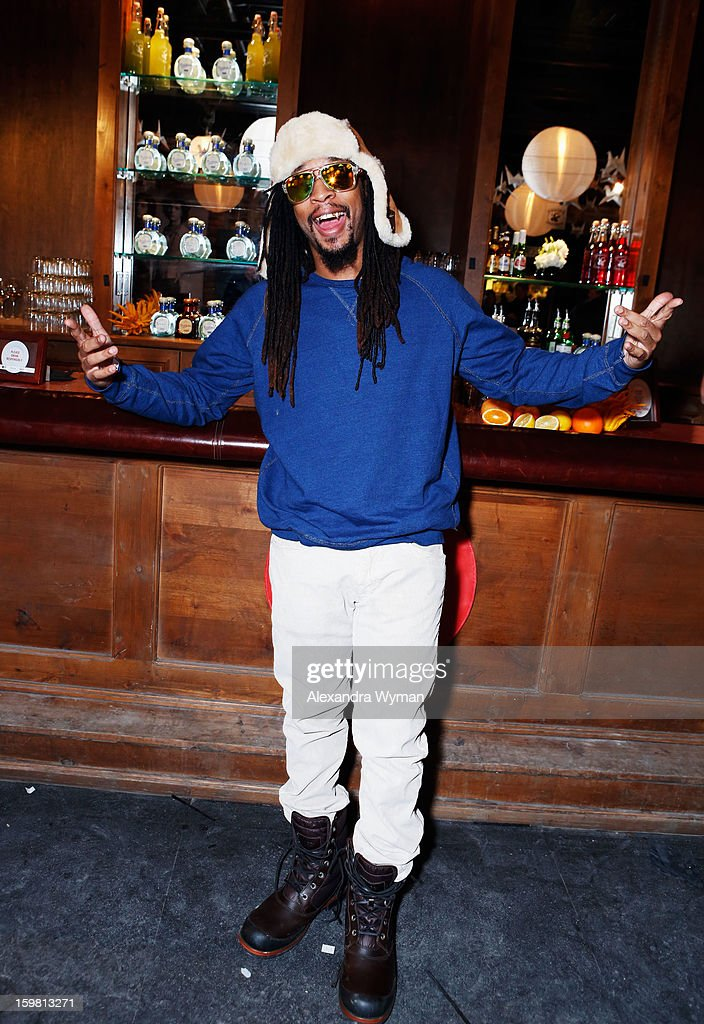 Rapper Lil John attends Night 3 of ChefDance on January 20, 2013 in Park City, Utah.