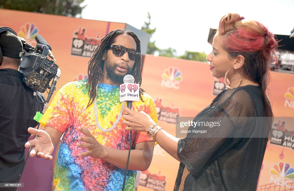 Rapper <a gi-track='captionPersonalityLinkClicked' href=/galleries/search?phrase=Lil+Jon+-+Rapper&family=editorial&specificpeople=202659 ng-click='$event.stopPropagation()'>Lil Jon</a> (L) and radio personality Nessa attend the 2014 iHeartRadio Music Awards held at The Shrine Auditorium on May 1, 2014 in Los Angeles, California. iHeartRadio Music Awards are being broadcast live on NBC.
