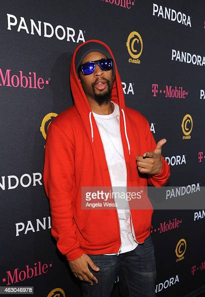 Rapper Lil Jon arrives for the PANDORA GRAMMY after party featuring Lil Jon brought to you by TMobile on February 8 2015 in Hollywood California