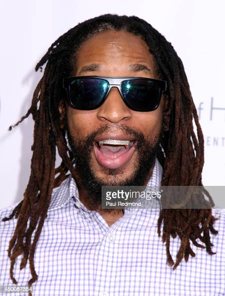 Rapper Lil Jon arriving at Songs Of Hope X 10th Anniversary Event Benefiting City Of Hope at House of Fair on June 4 2014 in Brentwood California