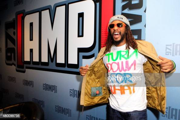 Rapper Lil Jon attends 971 AMP RADIO's Amplify 2014 concert at the Hollywood Palladium on March 22 2014 in Hollywood California