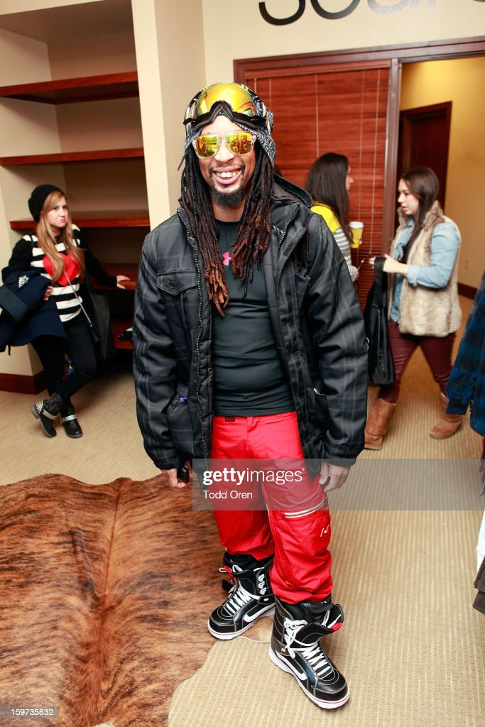 Rapper <a gi-track='captionPersonalityLinkClicked' href=/galleries/search?phrase=Lil+Jon+-+Rappeur&family=editorial&specificpeople=202659 ng-click='$event.stopPropagation()'>Lil Jon</a> attends Day 2 of Sears Shop Your Way Digital Recharge Lounge on January 19, 2013 in Park City, Utah.