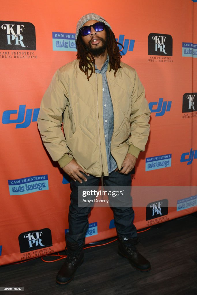 Rapper Lil Jon attends Kari Feinstein Style Lounge on January 19 2014 in Park City Utah