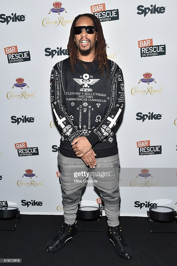 Rapper Lil Jon attends Spike's 'Bar Rescue' 100th Episode Celebration with Jon Taffer at STK Midtown on March 1 2016 in New York City