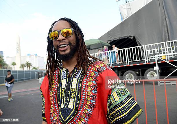 Rapper Lil Jon attends the 2014 iHeartRadio Music Festival Village on September 20 2014 in Las Vegas Nevada