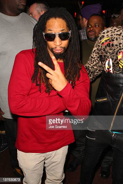 Rapper Lil Jon attends the TMobile Presents Google Music at TAO a nightlife event at the 2012 Sundance Film Festival on January 21 2012 in Park City...