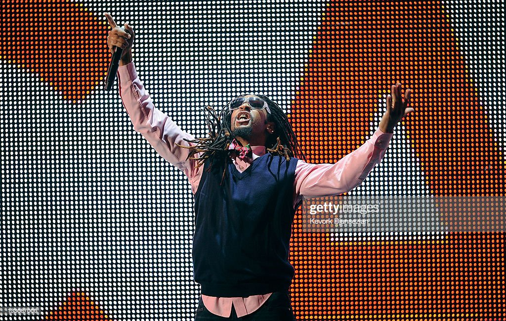 Rapper Lil Jon performs onstage at the 2011 American Music Awards held at Nokia Theatre LA LIVE on November 20 2011 in Los Angeles California