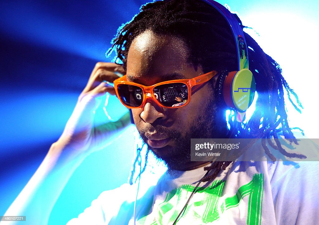 Rapper <a gi-track='captionPersonalityLinkClicked' href=/galleries/search?phrase=Lil+Jon+-+Rapper&family=editorial&specificpeople=202659 ng-click='$event.stopPropagation()'>Lil Jon</a> performs onstage during 97.1 AMP RADIO's Amplify 2014 concert at the Hollywood Palladium on March 22, 2014 in Hollywood, California.