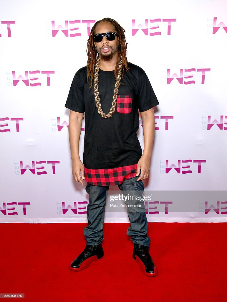Rapper Lil Jon poses before performing as DJ at Mount Airy Casino Resort's Get Wet on August 13, 2016 in Mount Pocono, Pennsylvania.