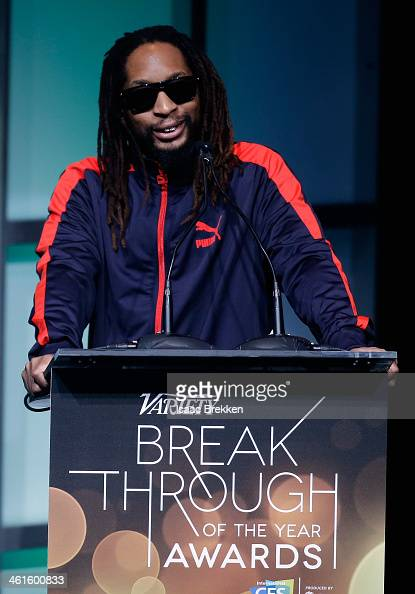 Rapper Lil Jon speaks onstage at the Variety Breakthrough of the Year Awards during the 2014 International CES at The Las Vegas Hotel Casino on...