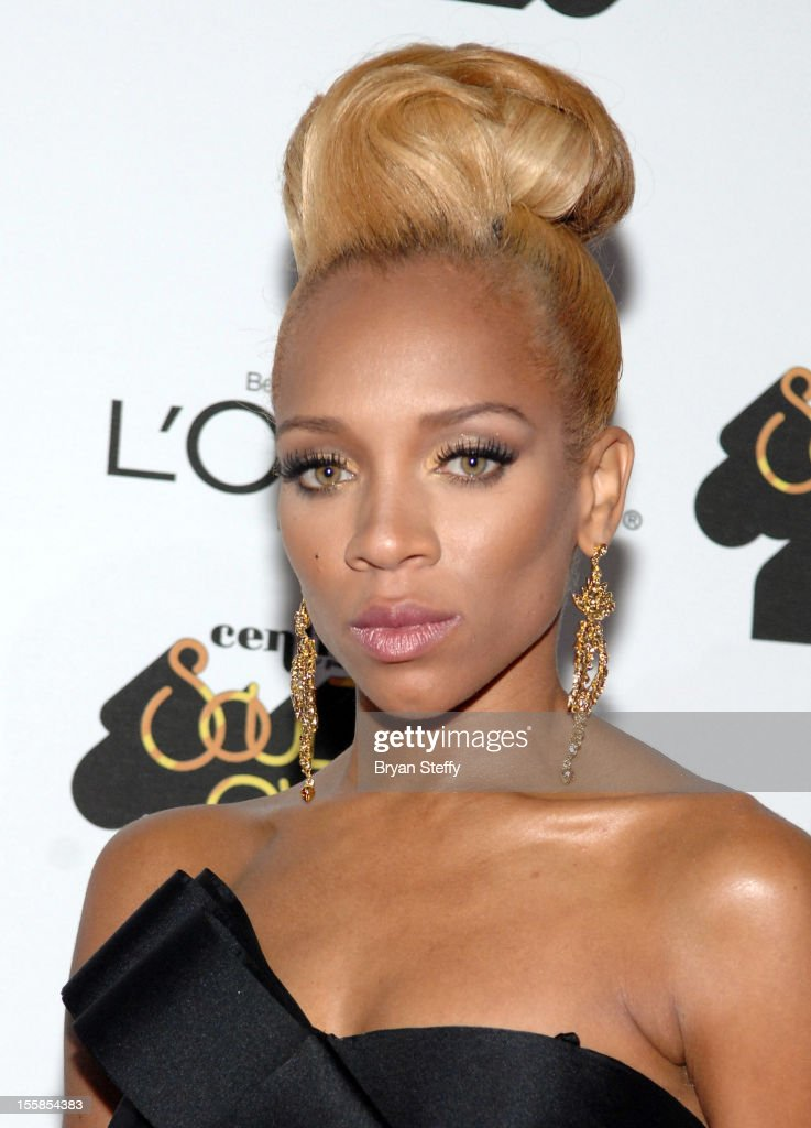 Rapper Lil Mama arrives at the Loreal Style Stage at the Soul Train Awards 2012 at PH Live at Planet Hollywood Resort & Casino on November 8, 2012 in Las Vegas, Nevada.