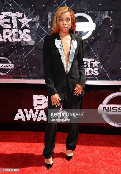 Rapper Lil' Mama attends the 2015 BET Awards at the Microsoft Theater on June 28 2015 in Los Angeles California