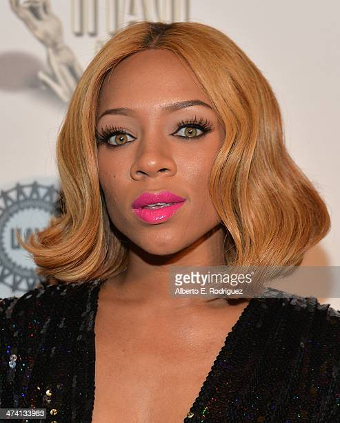 Rapper Lil' Mama attends the 45th NAACP Awards NonTelevised Awards Ceremony at the Pasadena Civic Auditorium on February 21 2014 in Pasadena...