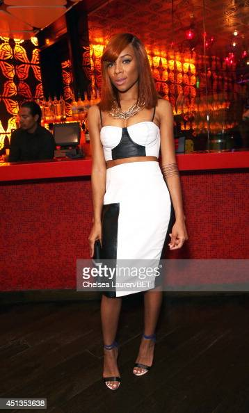 Rapper Lil' Mama attends the fashion show presented by Pantene and Poetic Justice Jeans during the 2014 BET Experience At LA LIVE on June 27 2014 in...